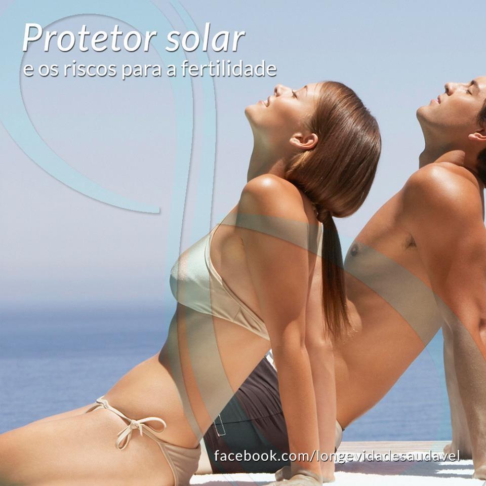 Protetor solar e os riscos para fertilidade