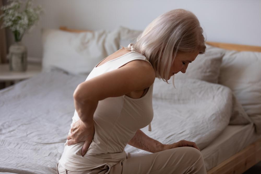 corpo da mulher na menopausa